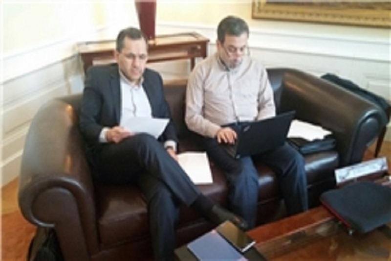 حضور عراقچی و روانچی در جلسه کمیسیون برجام