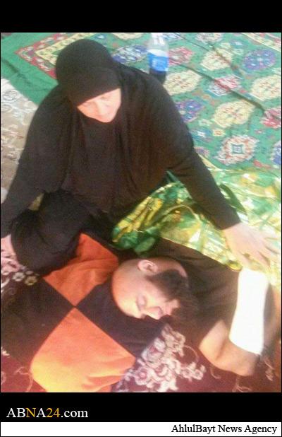 ابوعزرائیل مجروح شد+عکس