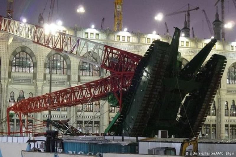 چه کسی جرثقیل مسجد الحرام را واژگون کرد؟