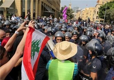 گفتوگوی ملی در لبنان در سایه درگیری نیروهای امنیتی با معترضان