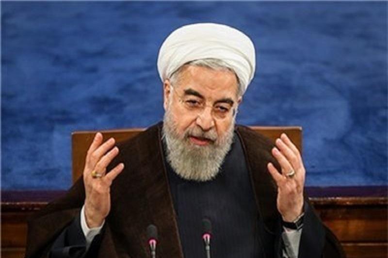 روحانی: حتی یک کشور پیدا نمیشود بگوید در مذاکرات سر ایران کلاه رفته است