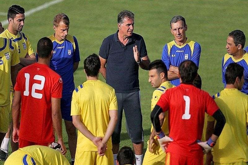 تفریح بازیکنان تیم ملی در اردو چیست؟