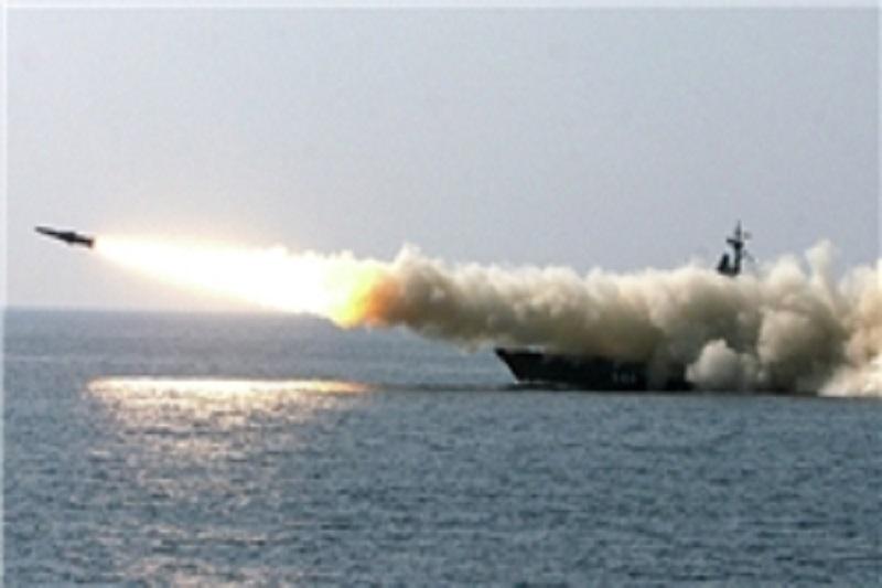 شلیک موشکهای روسیه از خزر به سوریه+فیلم