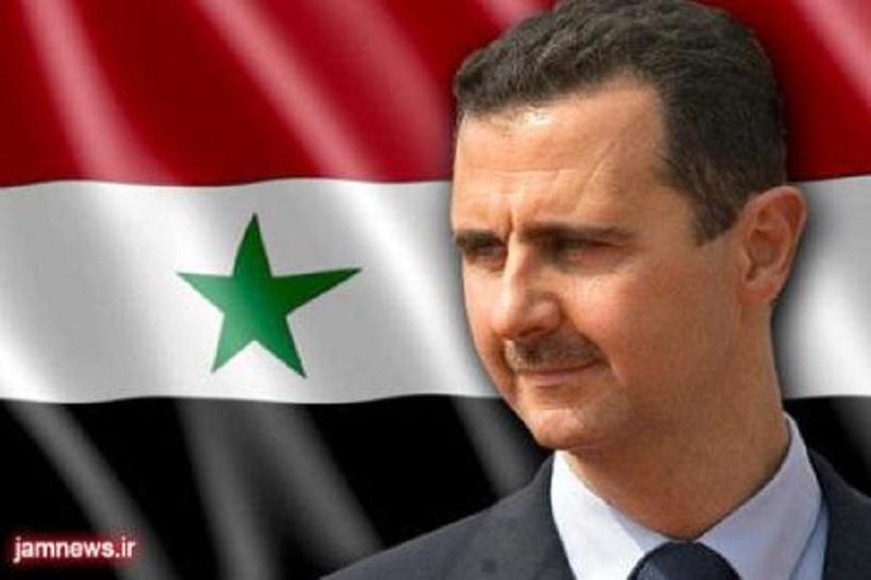 بشار اسد بهترین گزینه برای برقراری ثبات در سوریه است