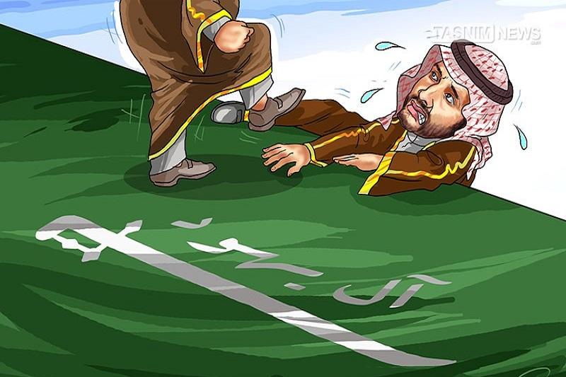 کاریکاتور: تدارک سرنگونی پسر پادشاه