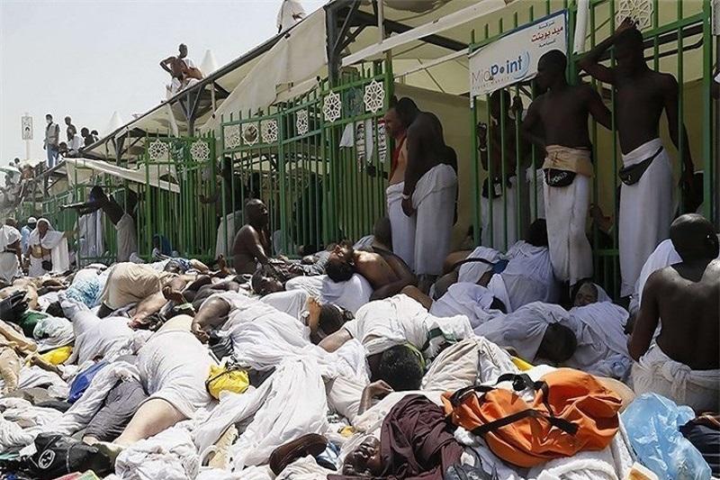 شمار کشتهشدگان منا از 2223 نفر فراتر رفت