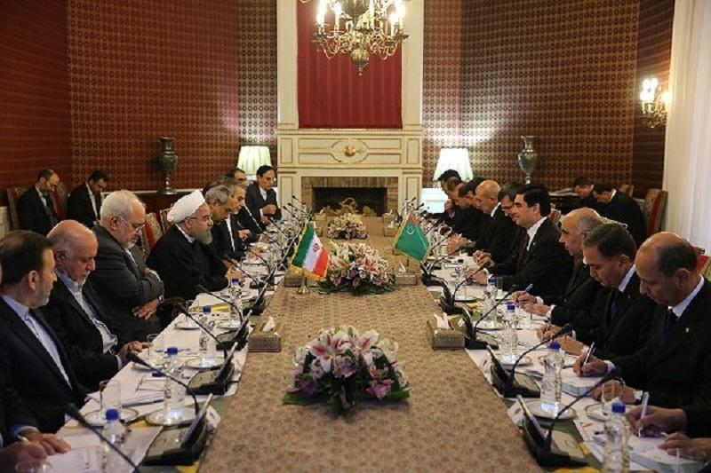 روحانی: اجازه ندهیم در امنیت دریای خزر خلل ایجاد شود