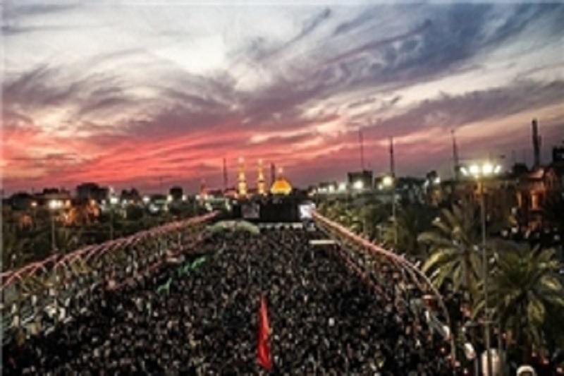 فعالیت خادمان به زائران اربعین حسینی در «6 کیلومتر»
