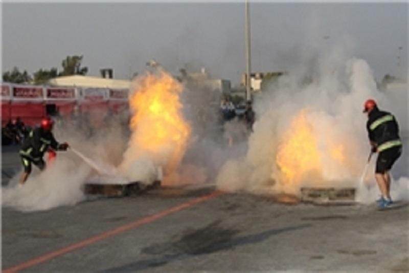آتشسوزی گسترده در کوچه اوراقچیها