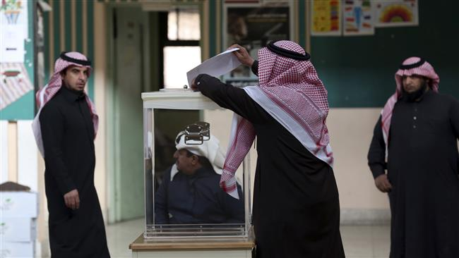 Women in Saudi Arabia vote for first time ever