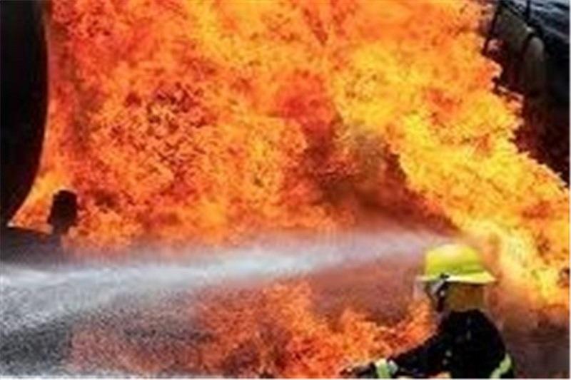 آتشسوزی در خانه مملو از مواد محترقه