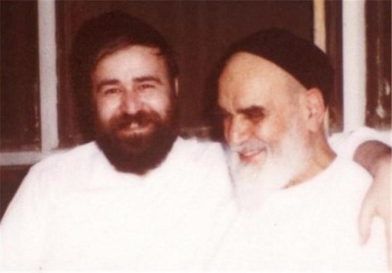 شادترین عکس امام و حاج احمد آقا