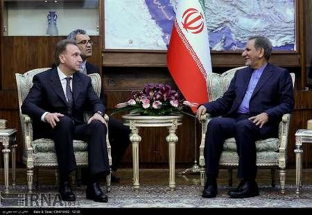 Jahangiri calls on Iran, Russia to boost economic relations