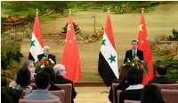 China, Syria stress importance of inseparability of counterterrorism efforts