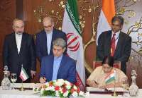 Iran, India sign comprehensive economic cooperation agreement