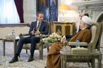 Rafsanjani, Danish FM meet
