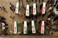 ورود پیکر ۹۳ شهید دفاع مقدس از طریق شلمچه به خاک کشورمان