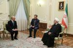 President Rouhani receives IAEA's Amano