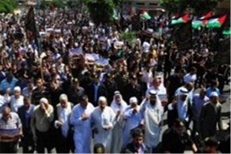 فراخوان حماس و جهاد اسلامی برای برگزاری تظاهرات حمایت از انتفاضه قدس