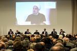 Rouhani attends Iran, Italy economic forum