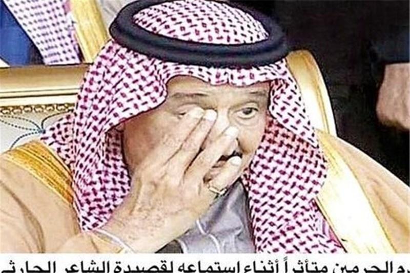 واکنش سلمان شاه پس از شنیدن چاپلوسانهترین قصیده+تصویر
