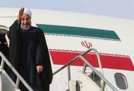 President Rouhani off to Mashad