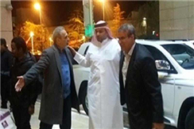 استقبال مدیران نفت از کاروان الجیش