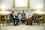 Greek PM meets with Hashemi Rafsanjani