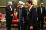 Pres. Rouhani, Greek PM meet