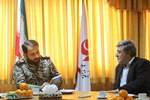 Commander pays visit to Mehr News Agency