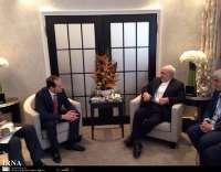 Iran FM meets UN deputy chief, Georgian counterpart