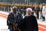 Pres. Rouhani welcomes Ghanaian counterpart