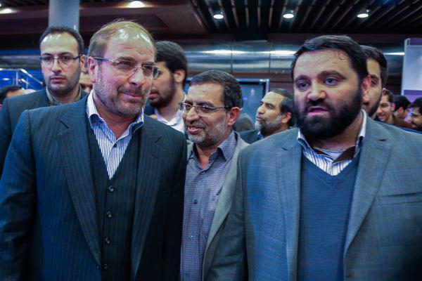 بازدید شهردار تهران از سومین نمایشگاه رسانه های دیجیتال انقلاب اسلامی +عکس