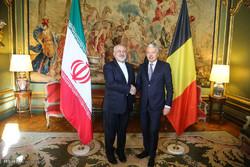 Iran, Belgian FMs meet in Brussels