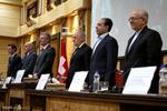 Swiss president visits Iran Chamber of Commerce
