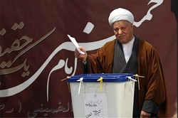 Rafsanjani, Rouhani top Tehran Assembly of Experts list