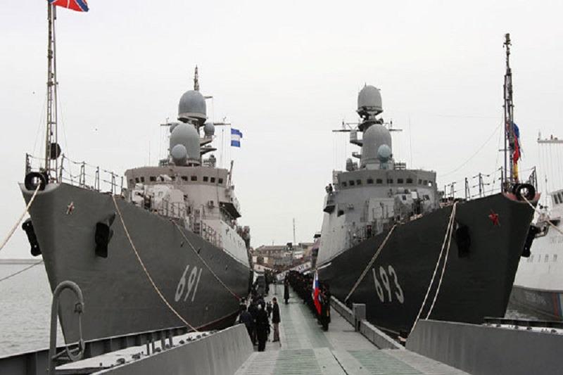 روسیه مهیای برگزاری رزمایش در دریای خزر می شود