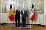 Iranian FM, Romanian counterpart hold presser