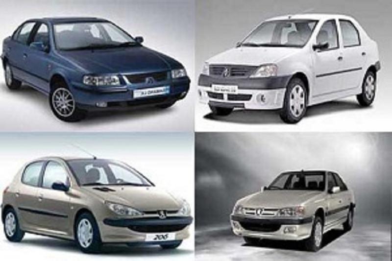 قیمت انواع خودروی داخلی+ جدول