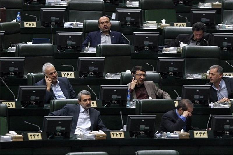 آغاز جلسه علنی مجلس با ۸۴ کرسی خالی