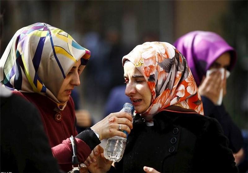 تصاویر/حمله پلیس ترکیه به معترضان