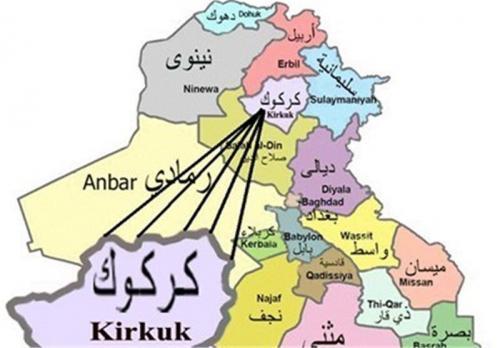 کرکوک زنگ خطر را برای بغداد به صدا درآورد