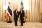 Thai PM, Zarif meet on Friday