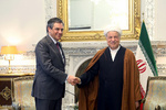 Rafsanjani, French official meet in Tehran