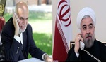 Iranian, Afghan presidents stress boosting ties over phone