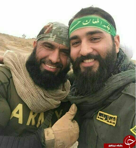 دو دوست صمیمی که داعش را زمین گیر کرده اند + تصویر