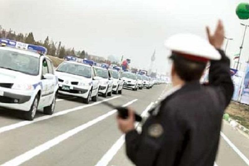 ترافیک در باند جنوبی آزاد راه تهران - کرج نیمه سنگین است
