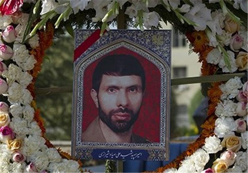 مراسم سالگرد شهادت سپهبد صیاد شیرازی در ستاد ارتش برگزار شد