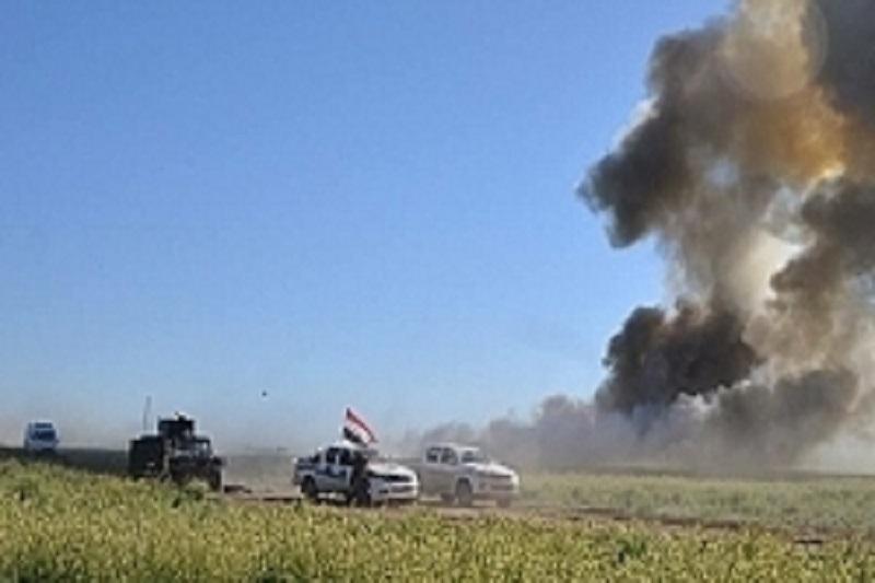 حمله داعش با گاز کلر به نیروهای عراقی در روستای «النصر» خنثی شد