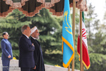Rouhani welcomes Kazakh counterpart in Tehran